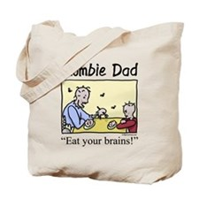 Cute Zombie day Tote Bag