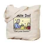 Zombie dad Tote Bag