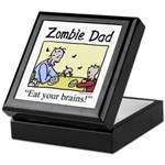 Zombie dad Keepsake Box