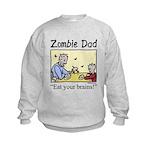 Zombie dad Kids Sweatshirt