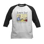 Zombie dad Kids Baseball Jersey