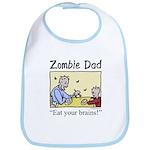 Zombie dad Bib