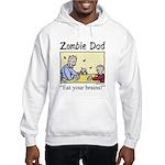Zombie dad Hooded Sweatshirt