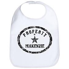 Property of Makenzie Bib