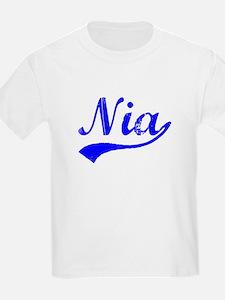 Vintage Nia (Blue) T-Shirt