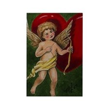 Cupid Rectangle Magnet