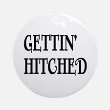 hitched Ornament (Round)
