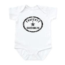 Property of Gwendolyn Infant Bodysuit