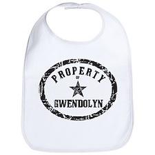 Property of Gwendolyn Bib