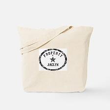 Property of Jaclyn Tote Bag