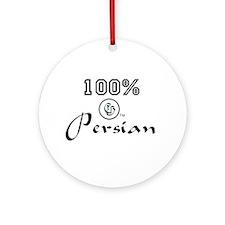 100 % Persian Ornament (Round)