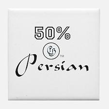 50% Persian Tile Coaster