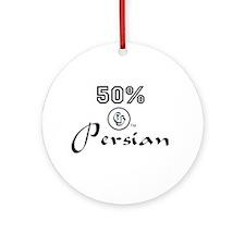 50% Persian Ornament (Round)