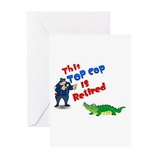 Top Cop 1 Greeting Card