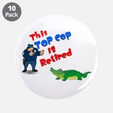 "Top Cop 1 3.5"" Button (10 pack)"