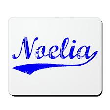 Vintage Noelia (Blue) Mousepad