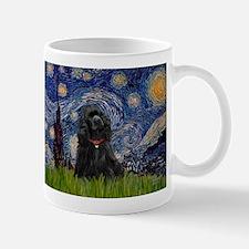Starry/Cocker (blk) Mug