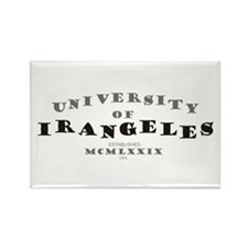 U. of Irangeles Rectangle Magnet