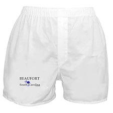 Beaufort South Carolina Boxer Shorts