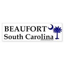 Beaufort South Carolina Bumper Bumper Sticker
