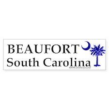 Beaufort South Carolina Bumper Car Sticker