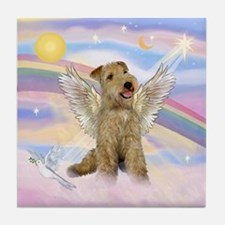 Lakeland Terrier Angel Tile Coaster