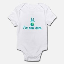 Hi I'm New Here Infant Bodysuit