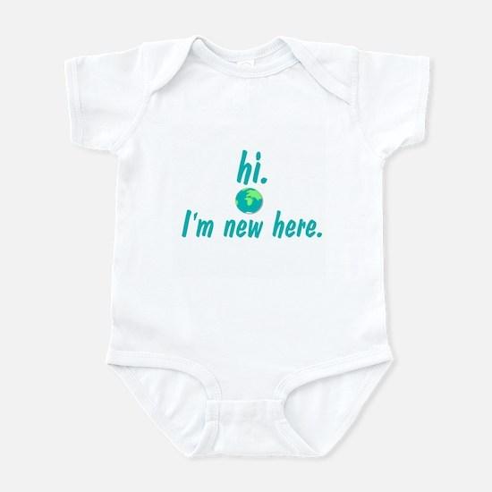 Hi I'm New Here Infant Bodysuit
