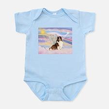 Sable Sheltie Angel Infant Bodysuit