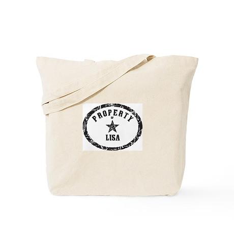 Property of Lisa Tote Bag