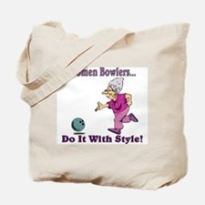 Women Bowlers... Tote Bag