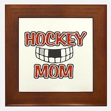 Hockey Mom Framed Tile