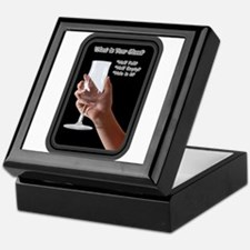 What is your glass? Keepsake Box