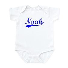 Vintage Nyah (Blue) Infant Bodysuit