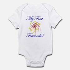 My First Fireworks! Infant Bodysuit