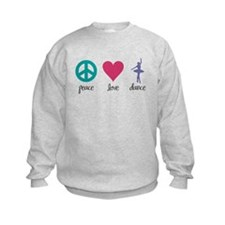 Peace, Love & Dance Sweatshirt
