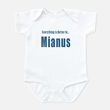 Mianus CT River Park T-shirts Infant Bodysuit
