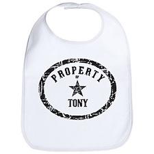 Property of Tony Bib