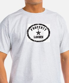 Property of Landen T-Shirt