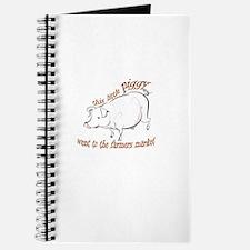 Little Piggy Farm Market Journal