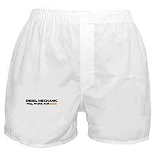 Diesel Mechanic Boxer Shorts