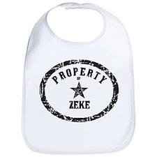 Property of Zeke Bib