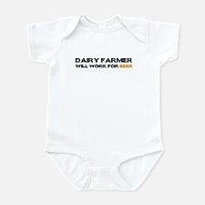 Dairy Farmer Infant Bodysuit