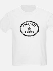Property of Paulina T-Shirt