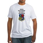 6990TH ELECTRONIC SECURITY SQUADRON Fitted T-Shirt