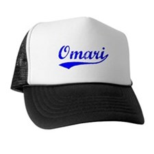 Vintage Omari (Blue) Trucker Hat