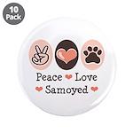 Peace Love Samoyed 3.5