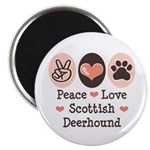 Peace Love Scottish Deerhound 2.25