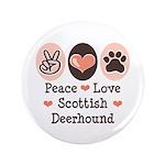 Peace Love Scottish Deerhound 3.5