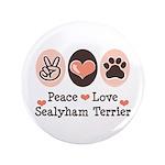 Peace Love Sealyham Terrier 3.5
